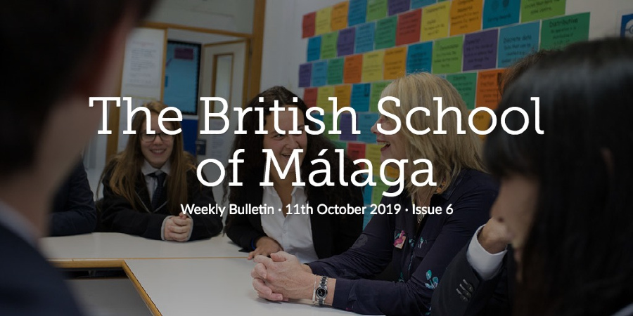 Weekly Bulletin 11th October 2019